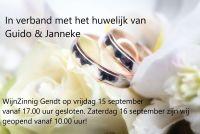 Huwelijk Guido & Janneke