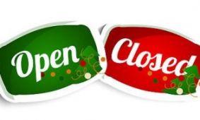 Aangepaste openingstijden December
