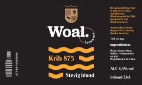 Woal Brouwers, Krib 875, Stevig Blond