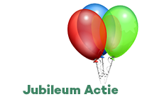 Jubileum Acties!